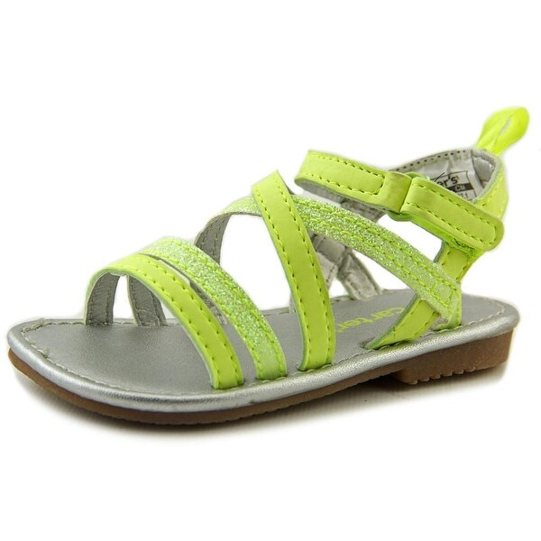 Carter's Tifany Toddler Open-Toe Synthetic Yellow Slingback Sandal