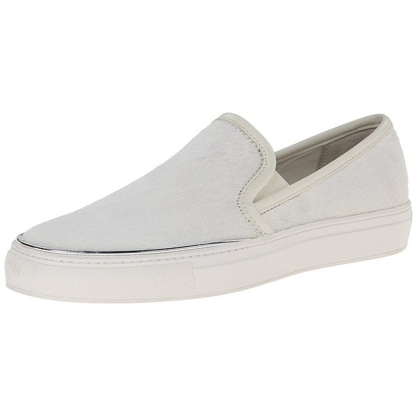 Calvin Klein Womens Ravey Low Top Slip On Fashion Sneakers
