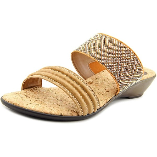 Love and Liberty Dawn Women Open Toe Synthetic Slides Sandal