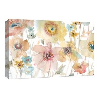 """PTM Images 9-148329  PTM Canvas Collection 8"""" x 10"""" - """"Soft Spring II"""" Giclee Flowers Art Print on Canvas"""
