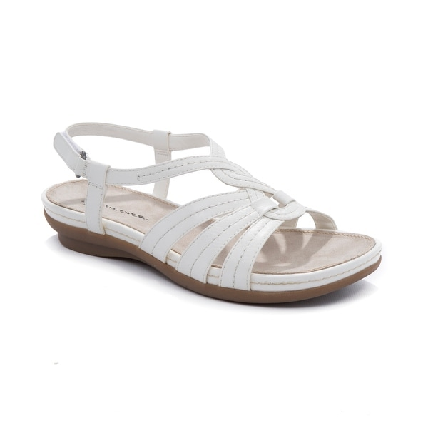 Wear.Ever. ANDREA Women's Sandals & Flip Flops White