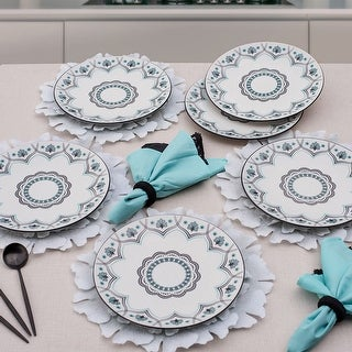 """Link to Manhattan Comfort Coup 6 Large 11.22"""" Dinner Plates Similar Items in Dinnerware"""