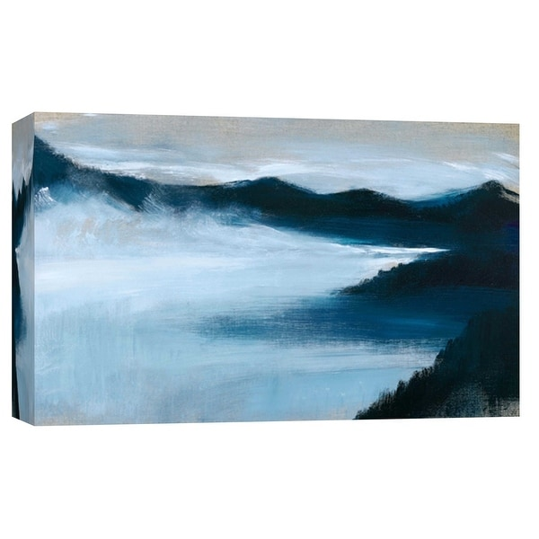 """PTM Images 9-102147 PTM Canvas Collection 8"""" x 10"""" - """"Summit To Sea 32"""" Giclee Mountains Art Print on Canvas"""