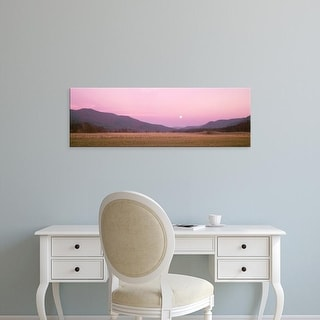 Easy Art Prints Panoramic Images's 'Cades Cove Great Smoky Mountains National Park TN USA' Premium Canvas Art