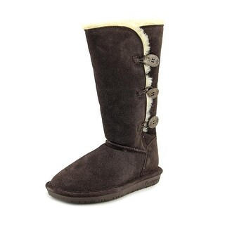 Bearpaw Lauren Women  Round Toe Suede Brown Winter Boot
