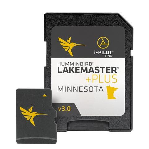 Humminbird 600021-8 LakeMaster PLUS Chart - Minnesota -Version3 w/ Micro SD Card