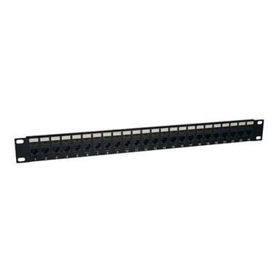 Tripp Lite 24-Port Cat6 / Cat5 Patch Panel, Rj45 Ethernet 1U Rackmount Taa (N254-024)
