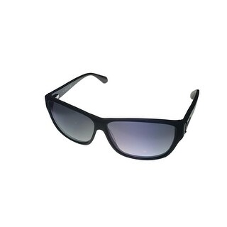 Kenneth Cole New York Mens Sunglass Wayfarer Black, Smoke Lens KC7034 1B - Medium