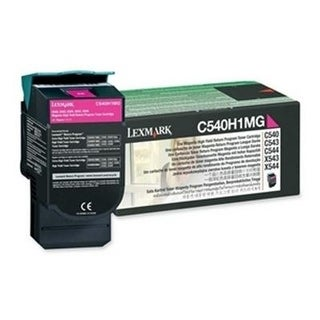 Lexmark C540h1mg Return High Capacity Magenta Toner Cartridge