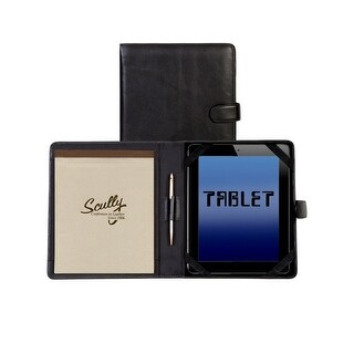 Scully Western Organizer Soft Plonge Tablet Magnetic Padfolio