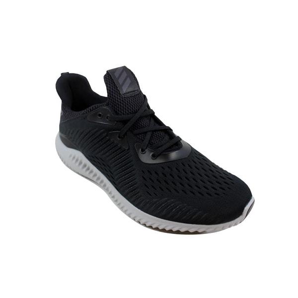 54a6f14a6e9e Shop Adidas Men's Alphabounce EM M Black/Grey BY4264 - Free Shipping ...