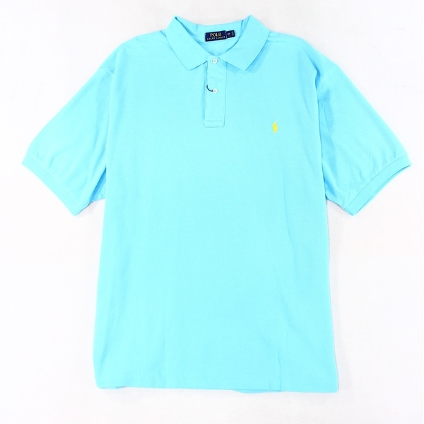 fdfdc7f6 Shop Polo Ralph Lauren NEW Blue Mens Size XLT Classic-Fit Pique Polo Shirt  - Free Shipping Today - Overstock - 19676997