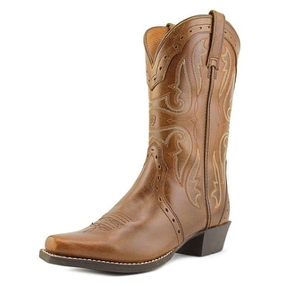 Ariat Youth Heritage X Toe Round Toe Leather Western Boot