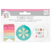 Bright Heart - Create 365 Happy Planner Magnetic Clips 3/Pkg