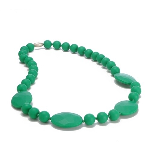 Chewbeads Perry Teething Necklace - Emerald Perry Teething Necklace