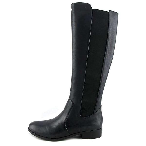Jessica Simpson Womens Ranica Leather Round Toe Knee High Fashion Boots Fashi...