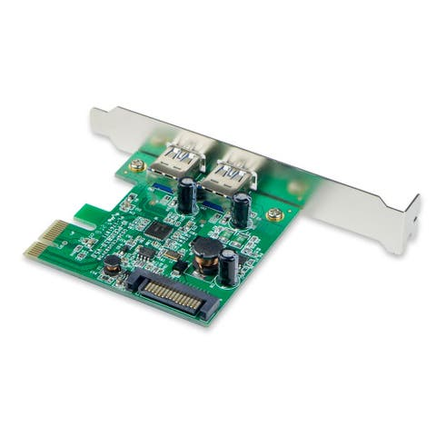 USB 3.0 PCI-e x1 Card, 2 port
