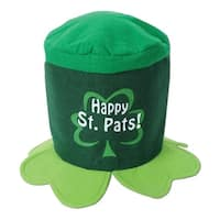 Club Pack of 12 Happy St. Pats! Hat St. Patrick's Day Costume Accessories - Green