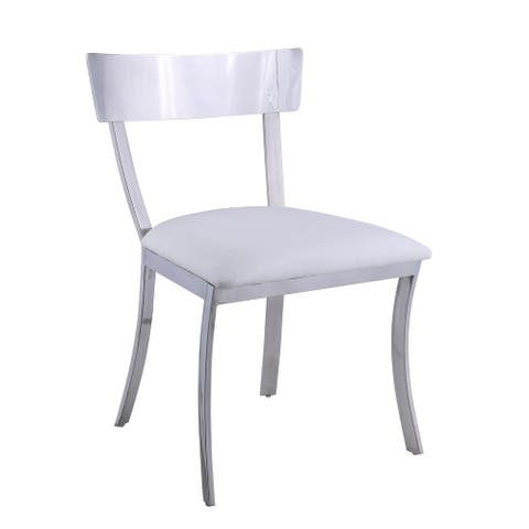 Somette Melanie Curved Back Dining Chair, Set of 2