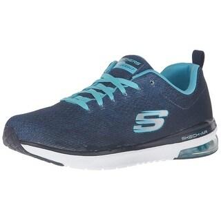 Skechers Sport Women Skech Air Infinity Modern Chic Fashion Sneaker,Navy/Light Blue,6.5 M Us
