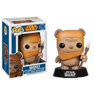 """Star Wars Pop 3.75"""" Bobble Figure: Wicket"""