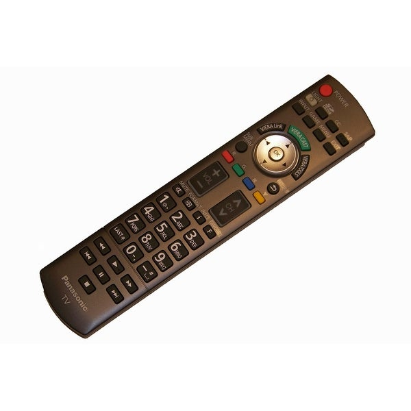 OEM Panasonic Remote Control Originally Supplied with TCP54G10, TCP54V10, TCP54V10, TCP58V10, TCP65V10