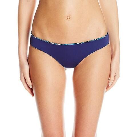 Lucky Brand Junior's Nomad Chevron Reversibile Cheeky Hipster Bikini Bottom S