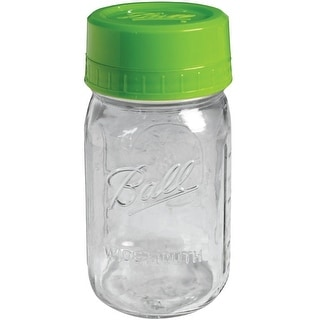 Ball 1440040003 Pour and Measure Cap And Jar, Green, 32 Oz