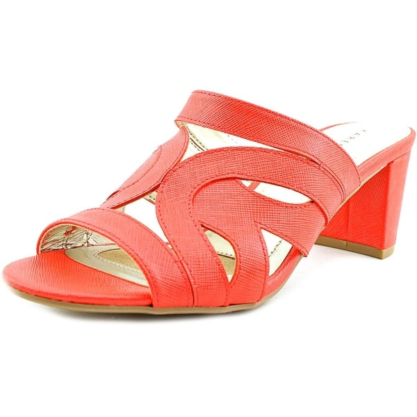 Karen Scott Daere Women Coral Sandals