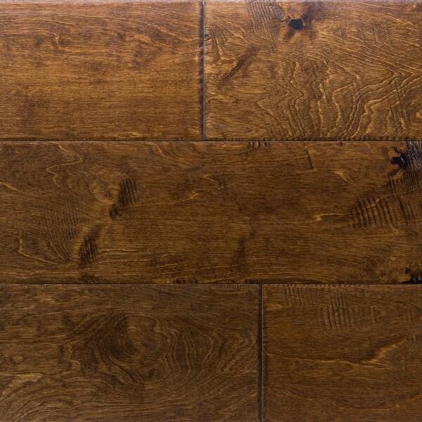 "Miseno MFLR-BOSTON-E Revolution Engineered Hardwood Flooring - 6-1/2"" Planks (37.8 SF / Carton) - Birch Boston"
