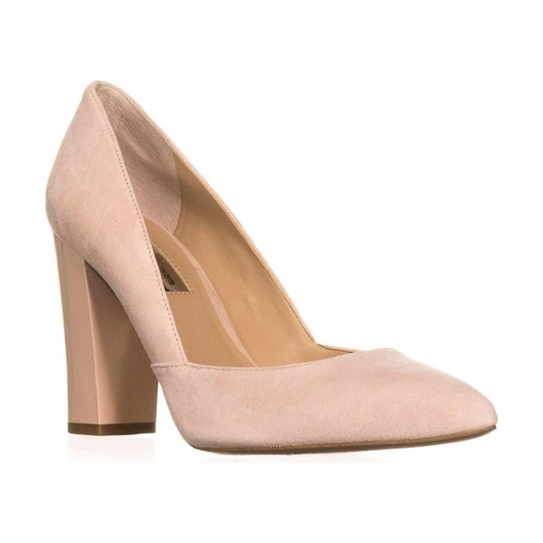 INC International Concepts Womens Elorra Leather Pointed Toe Classic Pumps