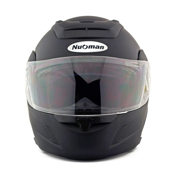 Motorcycle Motor Bike Scooter Safety Helmet NM-111 - Black Assorted - XL