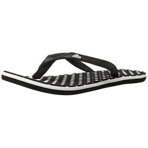 Adidas Womens Eezay Dots, White/Black/Black, 8