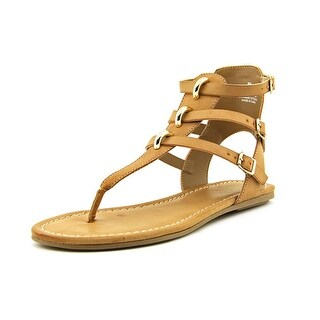 Mia Barbados Open Toe Synthetic Gladiator Sandal