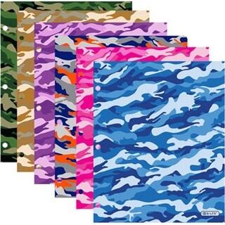 DDI 2011004 BAZIC Camouflage 2-Pockets Portfolios Case of 48