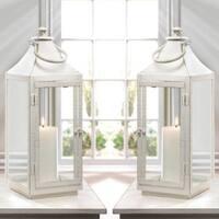 Large Traditional White Lantern