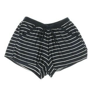 Robin Piccone Womens Striped Drawstring Casual Shorts - S