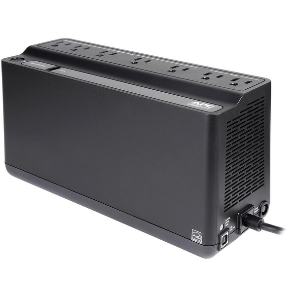 Back-UPS 600VA Battery Backup /& Surge Protector USB Charging Port BE600M1