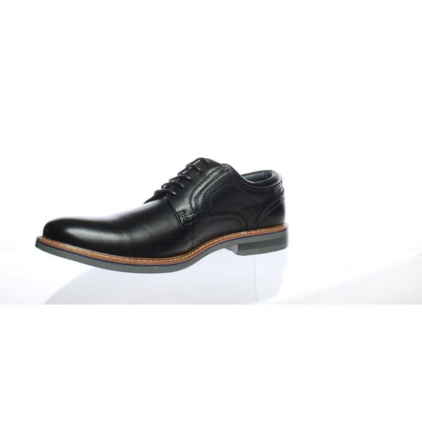 23a332f630b Shop Steve Madden Mens Orlando Black Leather Oxford Dress Shoe Size ...