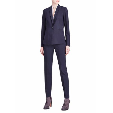 Elie Tahari Alma Navy Blazer Size 10