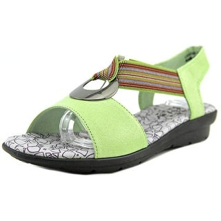 Spring Step Rustica Women Open Toe Synthetic Wedge Sandal
