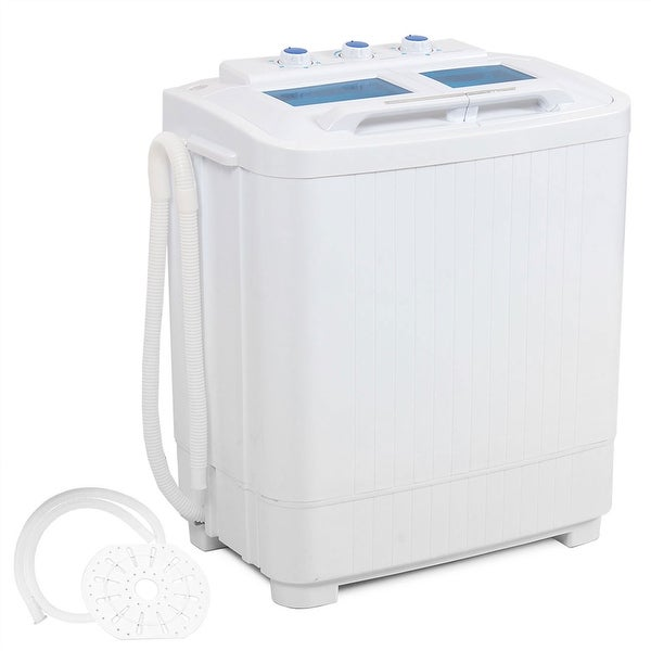 Exceptional Della Electric Small Mini Portable Compact Washer Washing Machine (33L  Washer U0026amp; 16L Dryer