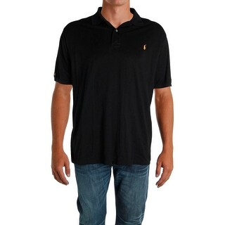 Polo Ralph Lauren Mens Big & Tall Polo Shirt Logo Collar - 3lt