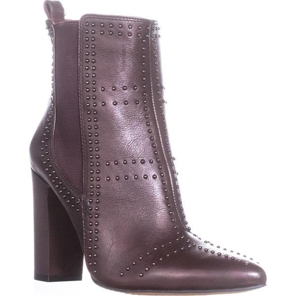 Vince Camuto Basila Studded Ankle Boots, Vintage Claret - 10 us / 40 eu