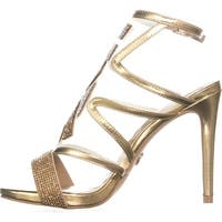 Thalia Sodi Womens regalo Open Toe Ankle Strap Classic Pumps