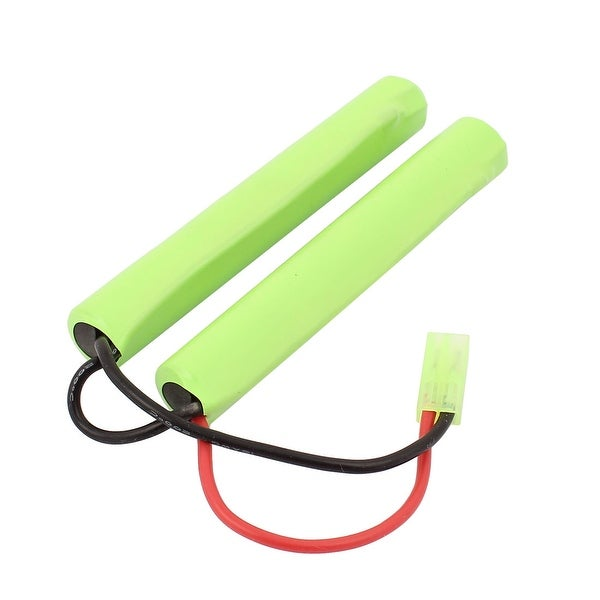 DC 9.6V 1200mAh Rechargable Lithium Polymer AAA Battery Pack for RC Aircraft
