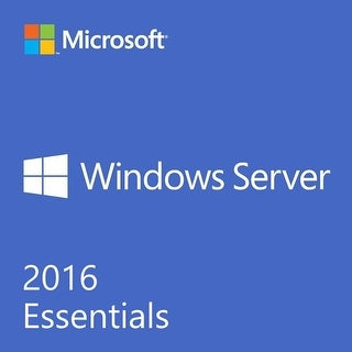 Microsoft Windows Server 2016 Essentials 64 Bit OEM 2 CPU