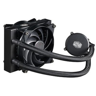 Cooler Master Masterliquid 120 All-In-One Cpu Liquid Cooler With Dual Chamber Pump