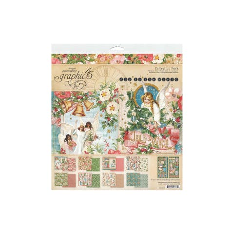 4501909 graphic 45 joy to the world collection pack 12x12