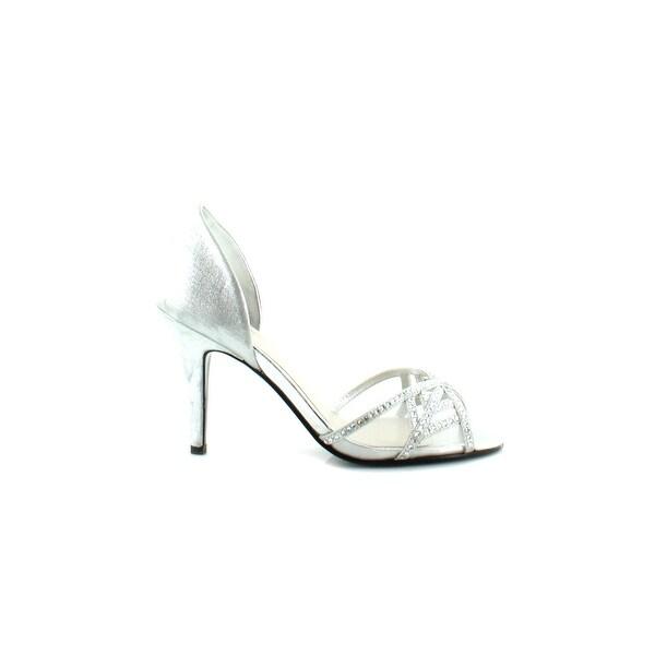 Caparros Cecilia Women's Sandals & Flip Flops Silver Metallic - 6.5